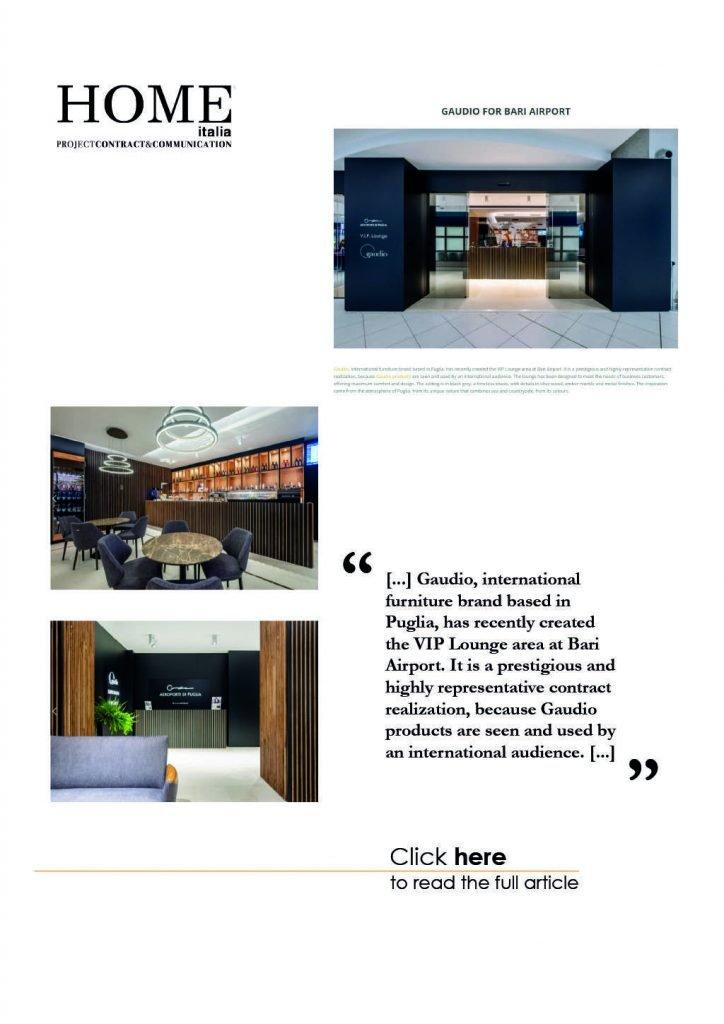 Gaudio Spazio Design - Press - Home